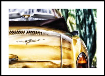 Poster Karmann Ghia 50x70