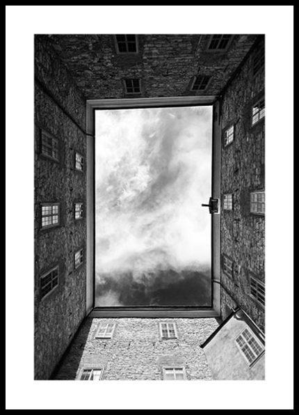 Poster Himmel 50x70